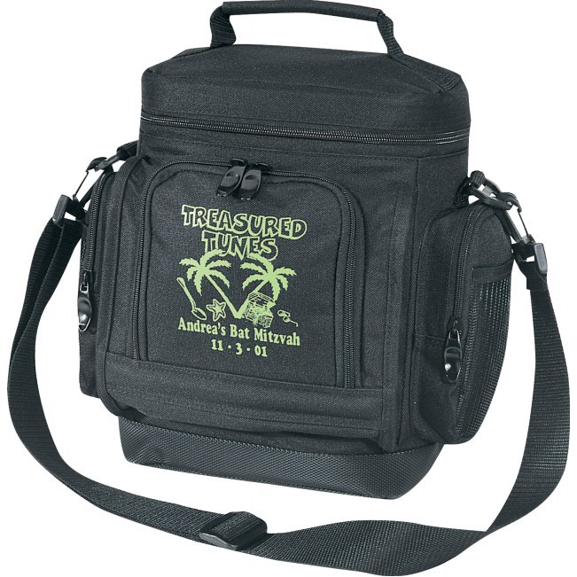 (4043) DELUXE LEAKPROOF COOLER W/LEATHER-LIKE BOTTOM