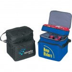 (4033) DELUXE POLY COOLER W/LUNCH BAG