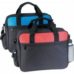 (5081) DELUXE BUSINESS PORTFOLIO W/CELL PHONE POCKET &amp; BOTTLE HOLDER