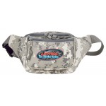 (DM1015) DIGITAL CAMO POLY THREE ZIPPER FANNY PACK
