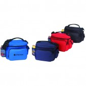 (4053) COOLER W/BOTTLE HOLDER & CELL PHONE POUCH
