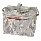 (DM4051) DIGITAL CAMO 6-PACK COOLER