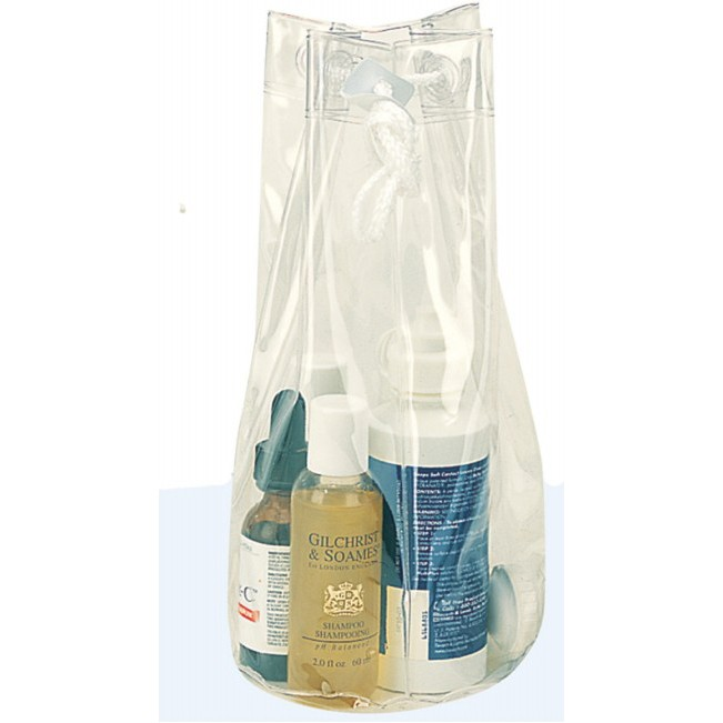 (CS1011) CLEAR COSMETIC TOTE