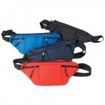(1035) POLY FOUR ZIPPER FANNY PACK