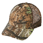(27203) LOW CROWN (CONSTRUCTED) 6 PANEL SUPERFLAUGE CAMO TWILL MESH CAP