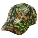 (27207) LOW CROWN (CONSTRUCTED) 6 PANEL SUPERFLAUGE CAMO TWILL CAP