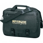 (5023) LEATHERETTE EXPANDABLE BRIEFCASE