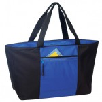 (BS218) POLY ZIPPERED TOTE BAG