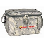 (DM4023) DIGITAL CAMO DELUXE POLY 12-PACK COOLER