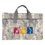(DM5011) DIGITAL CAMO DOCUMENT BAG