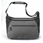 (HP6601) HEATHERED TRAVEL BAG