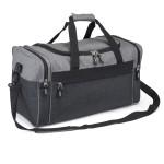 (HP6607) HEATHERED CARRYALL DUFFEL BAG